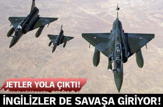 İngiliz Savaş Uçakları da IŞİD'i Vurmaya Gidiyor