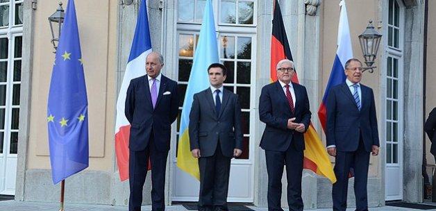 Ukrayna krizine çözümde ilerleme sağlandı