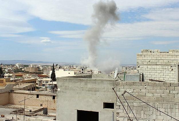 Suriye'de varil bombalı saldırı