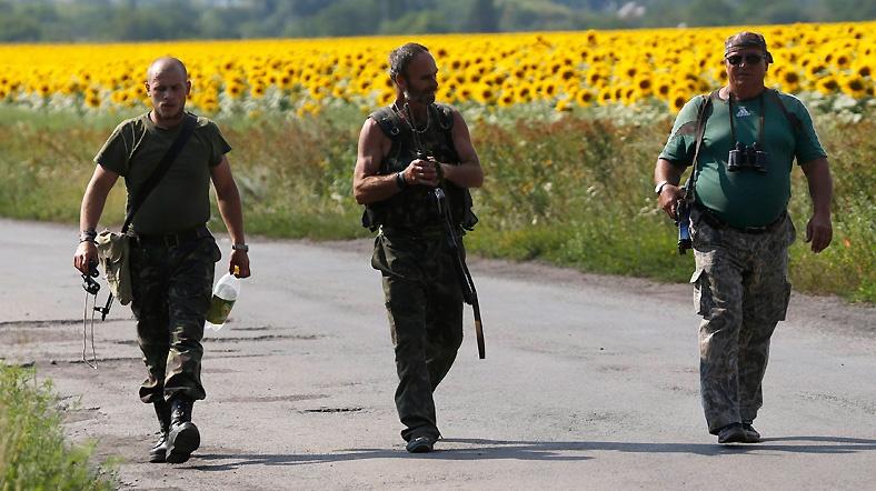 Ukrayna'da Rus askerleri esir alındı