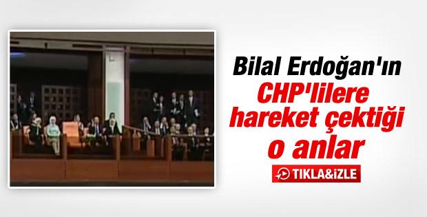 Bilal Erdoğan'dan CHP'li vekillere tepki İZLE
