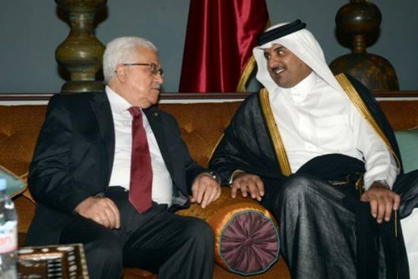 Abbas'dan Katar'a Teşekkür