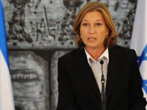 "Livni'den Netanyahu'ya ""Sadık Dost Abbas"" Eleştirisi"