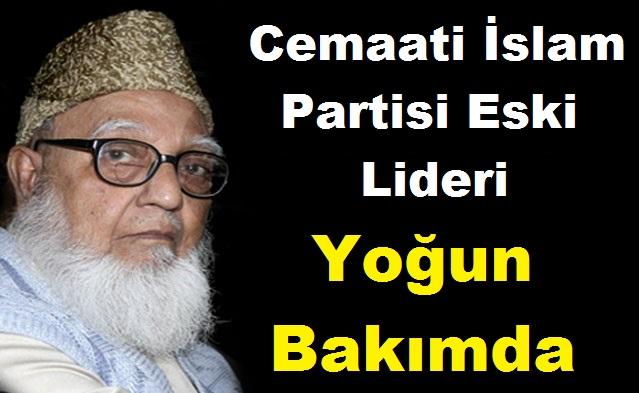 Cemaati İslam Liderlerinden Gulam Azam Hastaneye Kaldırıldı