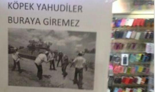 Eminönü'nde Siyonistlere Anlamlı Tepki