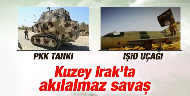 IŞİD elindeki savaş uçaklarının görüntüsünü yayınladı İZLE