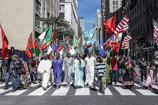 New York'ta 'Müslüman Günü Yürüyüşü' yapıldı