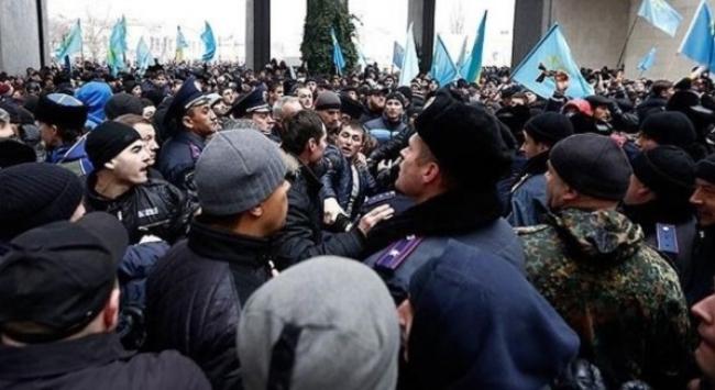 Kırım Tatar Milli Meclisi'ne baskın