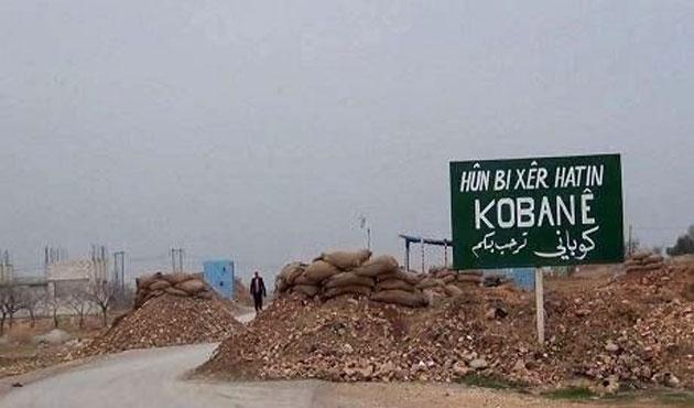 Kobani çevresindeki IŞİD güçleri hedef