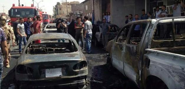Kerkük'te pazar yerine bombalı saldırı: 10 ölü