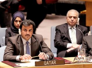 Katar Emiri BM'de Gazze'yi Savundu