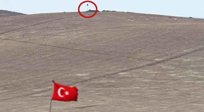 IŞİD, şehir merkezine ilerliyor! Bayrak sayıları arttı