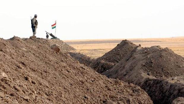 Mahmur'da IŞİD'e karşı hendekli önlem