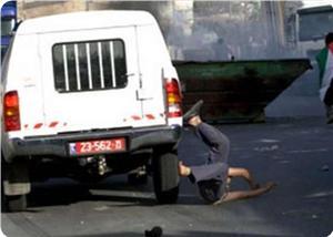 Yahudi Yerleşimcilerden Biri Aracıyla Filistinli Çocuğu Ezip Kaçtı
