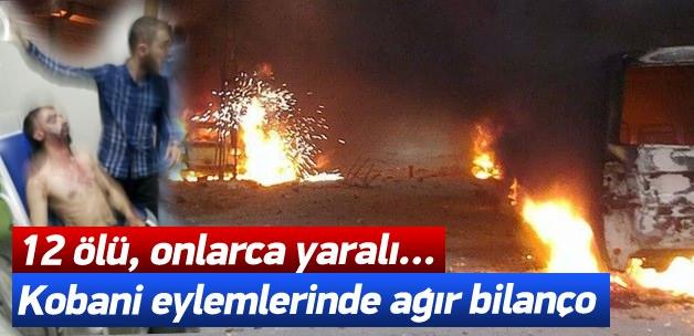 Kobani Bahanesiyle Ülkeyi Yaktılar : 12 Ölü