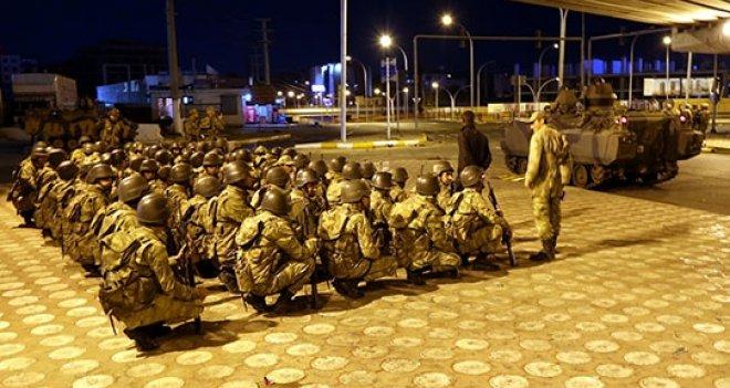 Asker, Diyarbakır, Mardin, Van ve Batman sokaklarında