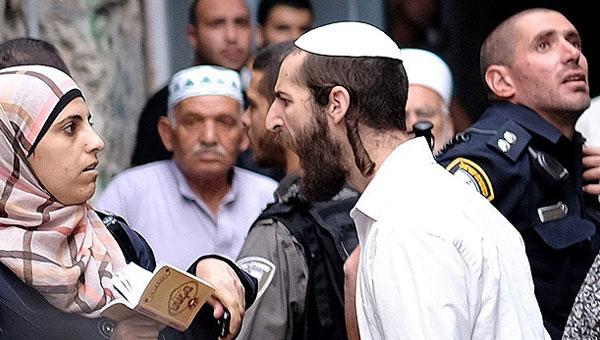 Yahudi yerleşimcilerden Filistinli kadınlara çirkin saldırı!