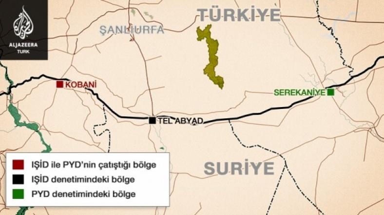'Kobani'de Bugüne Kadar 1600'den Fazla Kişi Öldü'