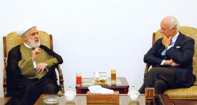 BM Suriye Özel Temsilcisi Lübnan'da Hizbullah ile görüştü