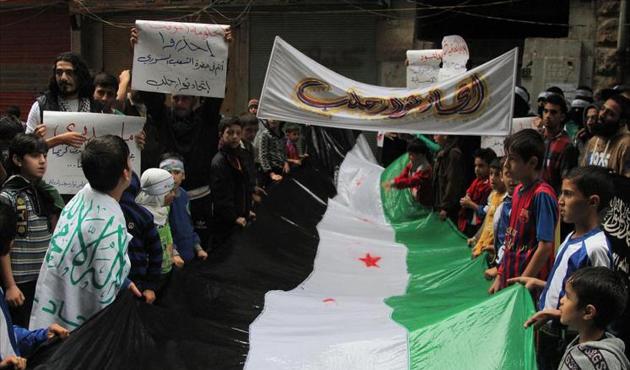Halep'de Türkiye İçin Eylem