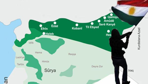 Kürt devletini oraya kurmak için anlaştılar