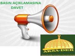 Vahşet ve Katliamlar Aksaray'da Protesto Edilecek