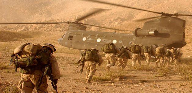 ABD'li askerlerin postalları Enbar topraklarında