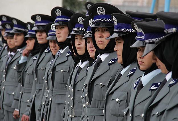 Afgan kadın polisler Türkiye'de eğitim görecek