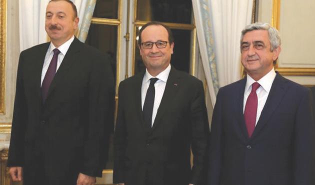 Paris'te Yukarı Karabağ Zirvesi