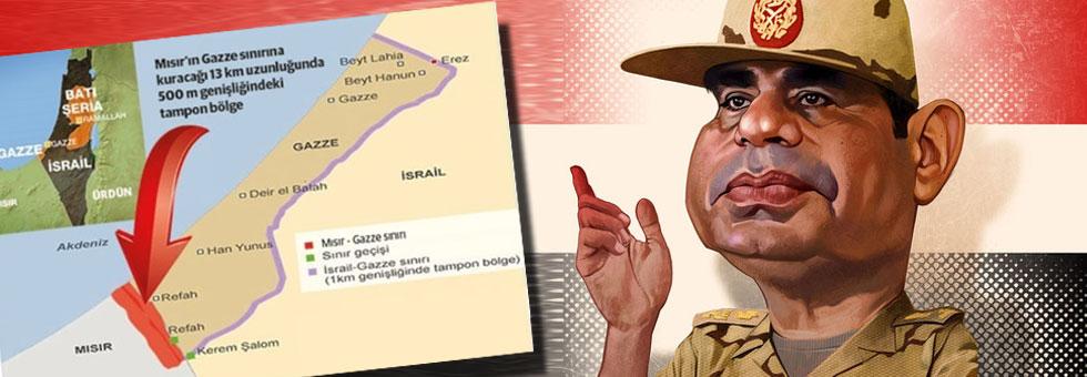 Mısır'daki cunta, İsrail'in güvenliği için ne gerekiyorsa yapıyor