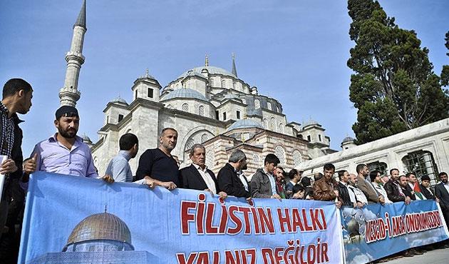 Türkiye genelinde Mescid-i Aksa için gösteriler