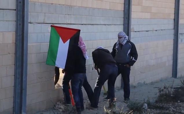 """Siyonistlerin """"Ayrılık"""" Duvarı Delindi-VİDEO"""