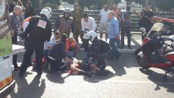 Siyonistlere Karşı Mücadele Sürüyor: 1 Asker Bıçaklandı-FOTO