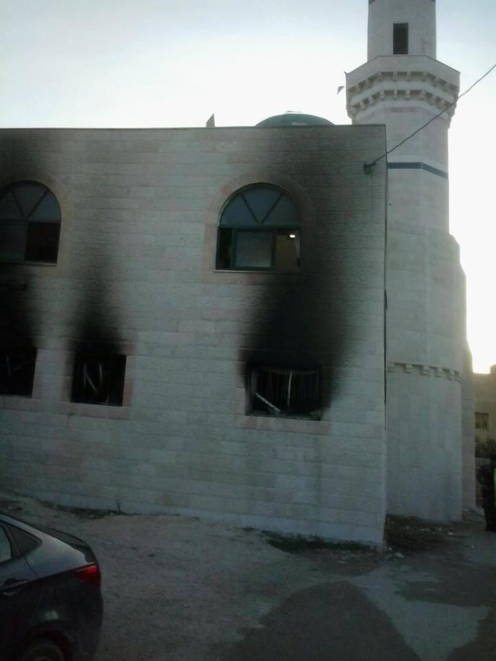 Yahudi Yerleşiöciler Cami Yaktı