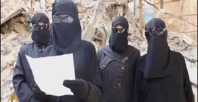 İşte Kadın Tekfirci Teröristler