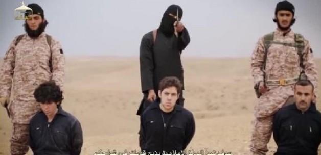 IŞİD Esirleri Toplu Şekilde İnfaz Etti-VİDEO