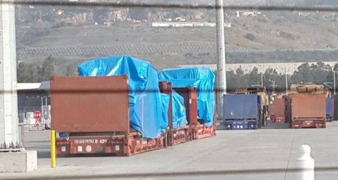 Araba taşıdığı söylenen ABD gemisi İskenderun Limak Port Limanı'na füze ve ağır silah indirdi iddiası