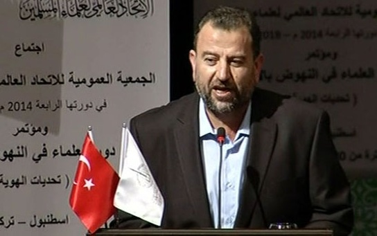 """Salih el Aruri: """"Direnişimiz Filistin Topraklarında ve Düşmanımız Siyonist İşgalci"""""""