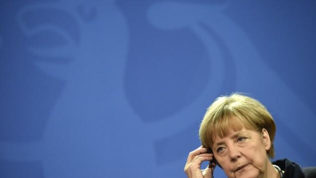 Erdoğan İle Merkel Görüştü