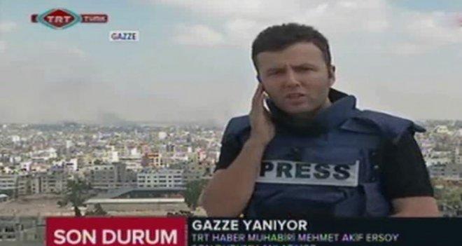TRT Gazze Muhabiri Ersoy'a Büyük Komplo