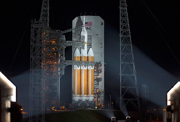 Orion fırlatıldı