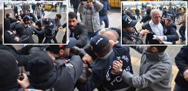 Erdoğan'ın Ailesine Küfürler Eden Eski Vekil'e Saldırı