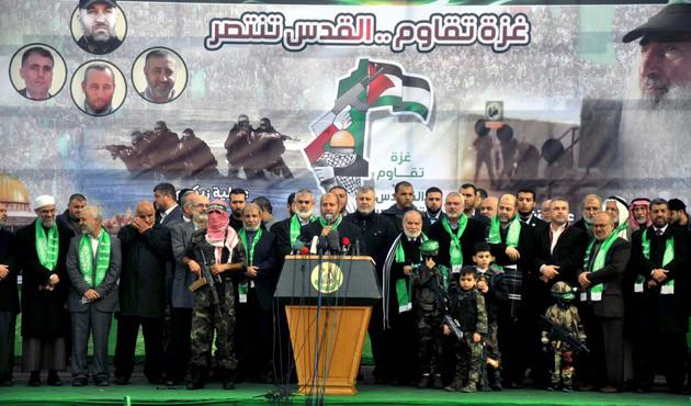 Hamas, 27. yılını kutladı