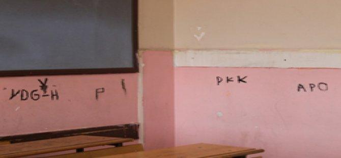 Okul mu örgüt merkezi mi? (Foto)