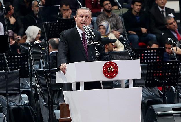 Erdoğan: Saltanatın Elden Gitmesini İstemiyorlar