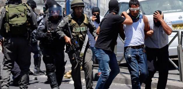İsrail'den Yeni Gözaltı Dalgası