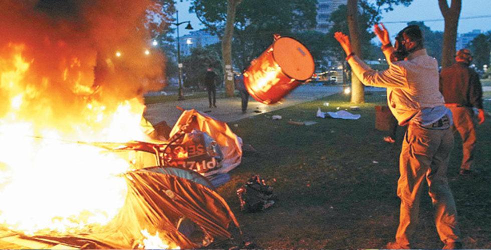 Gezi'de Ateşe Benzinle Giden Kimdi ?