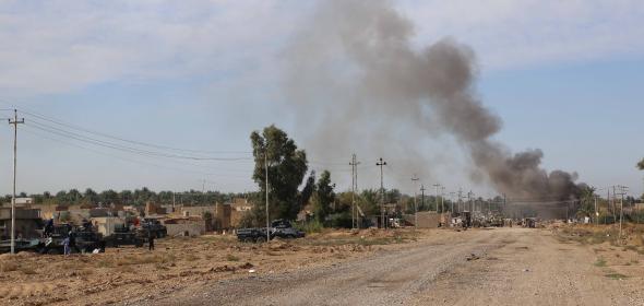 Irak Ordusu İlerleyişini Sürdüyor