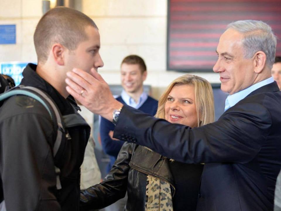 SONDAKİKA Netanyahu'nun Oğlu Yaralandı