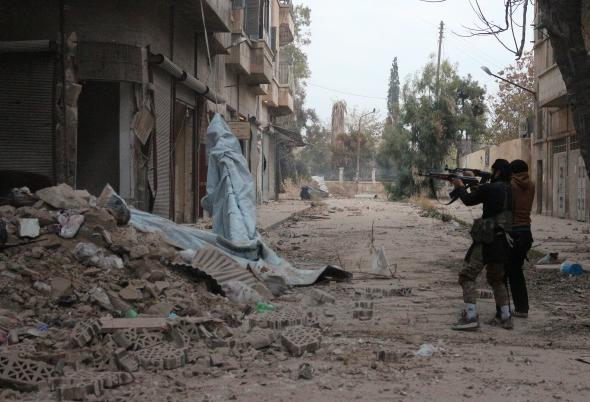 Suriye'de 15 Rejim Askeri Öldü